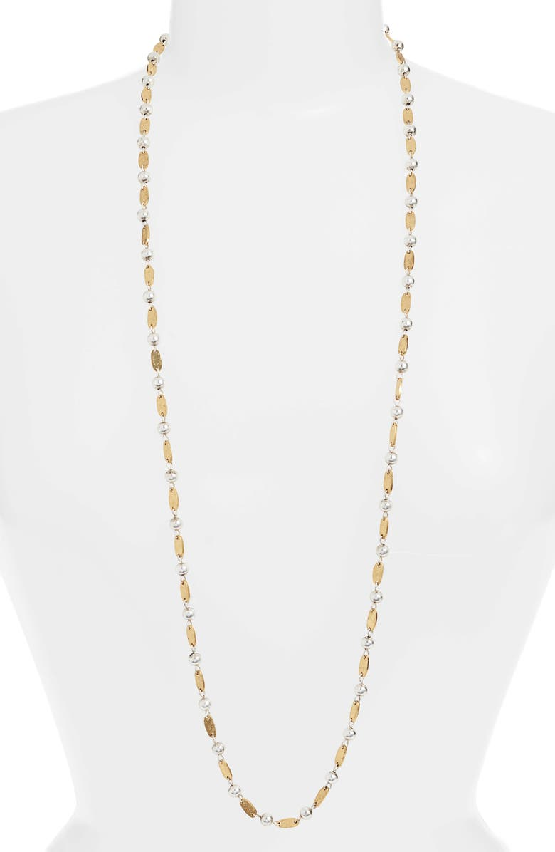 KARINE SULTAN Long Chain Necklace, Main, color, 710