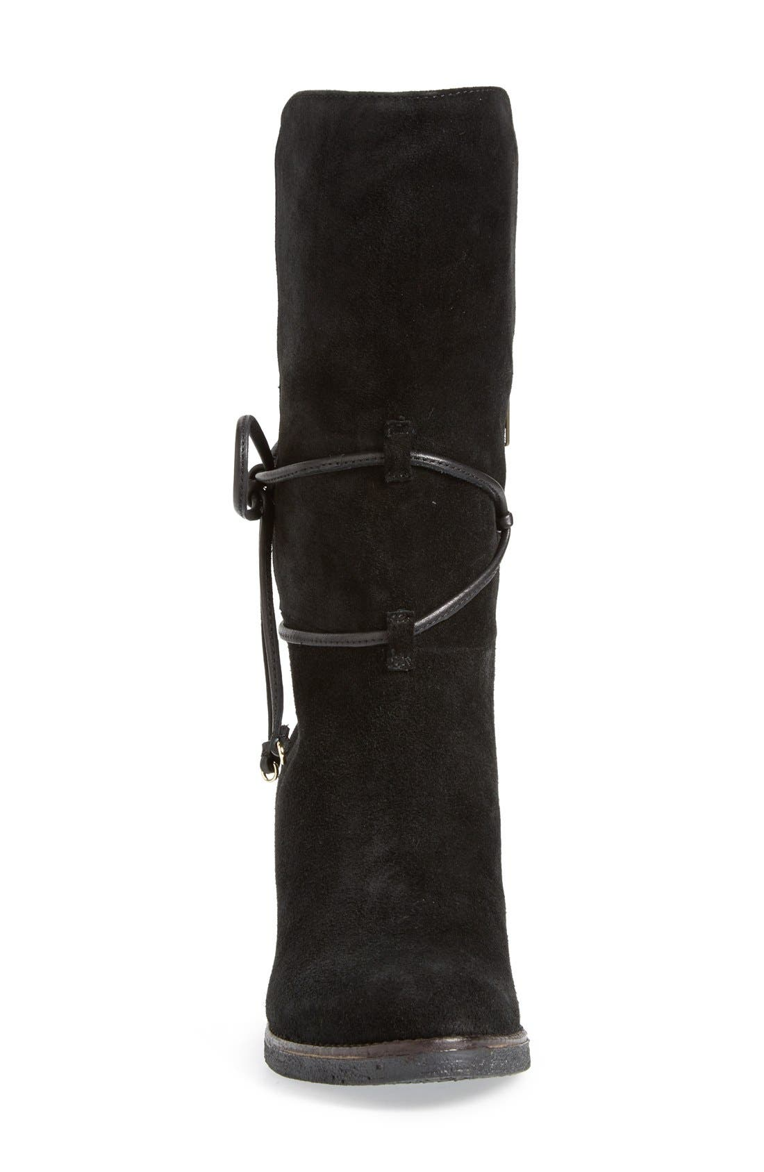 ,                             'Jeanie' Mid Calf Boot,                             Alternate thumbnail 3, color,                             008