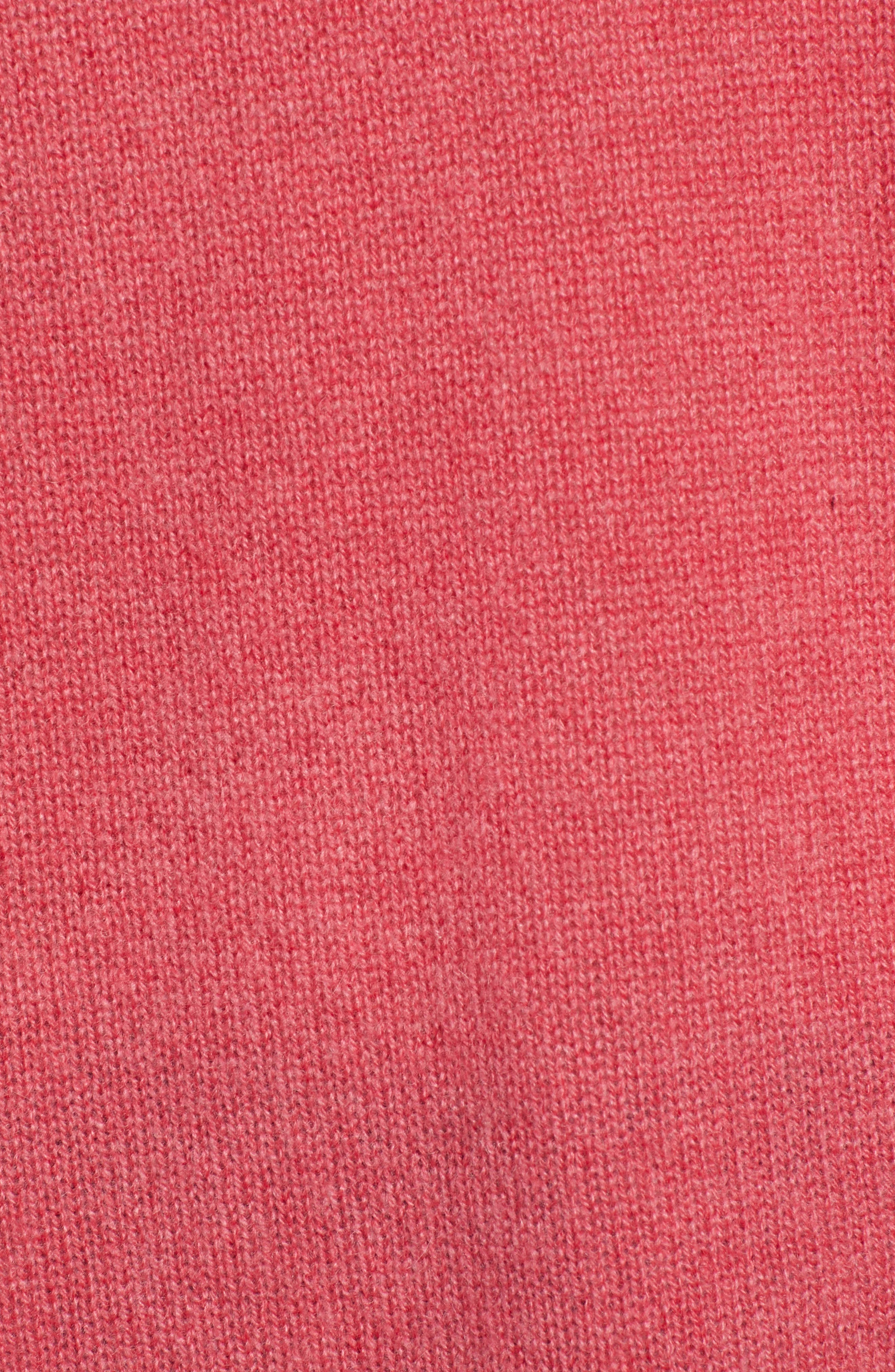 ,                             Relaxed V-Neck Cashmere Sweater,                             Alternate thumbnail 68, color,                             650