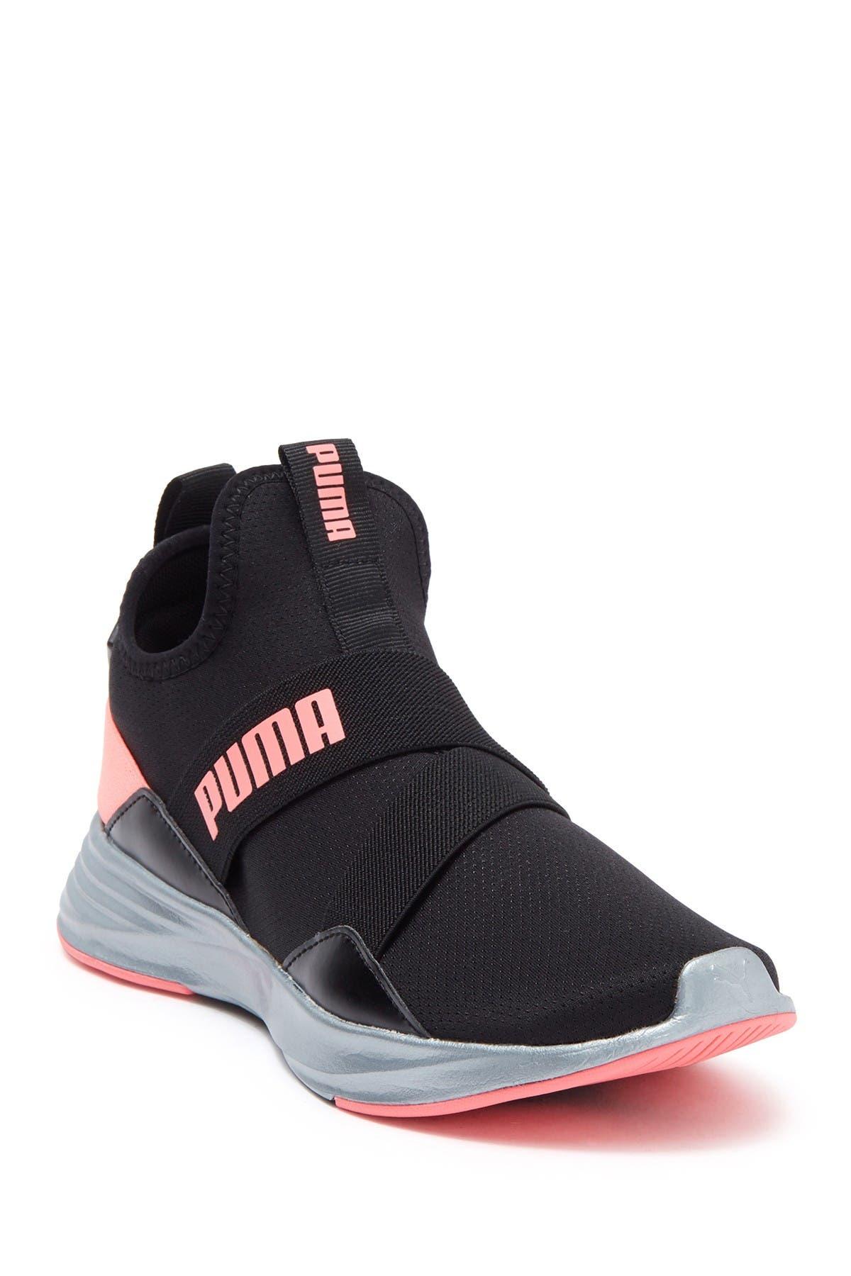 Image of PUMA Radiate Mid Pearl Sneaker