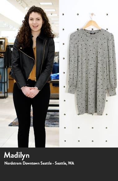 Cozy Long Sleeve Knit Shift Dress, sales video thumbnail
