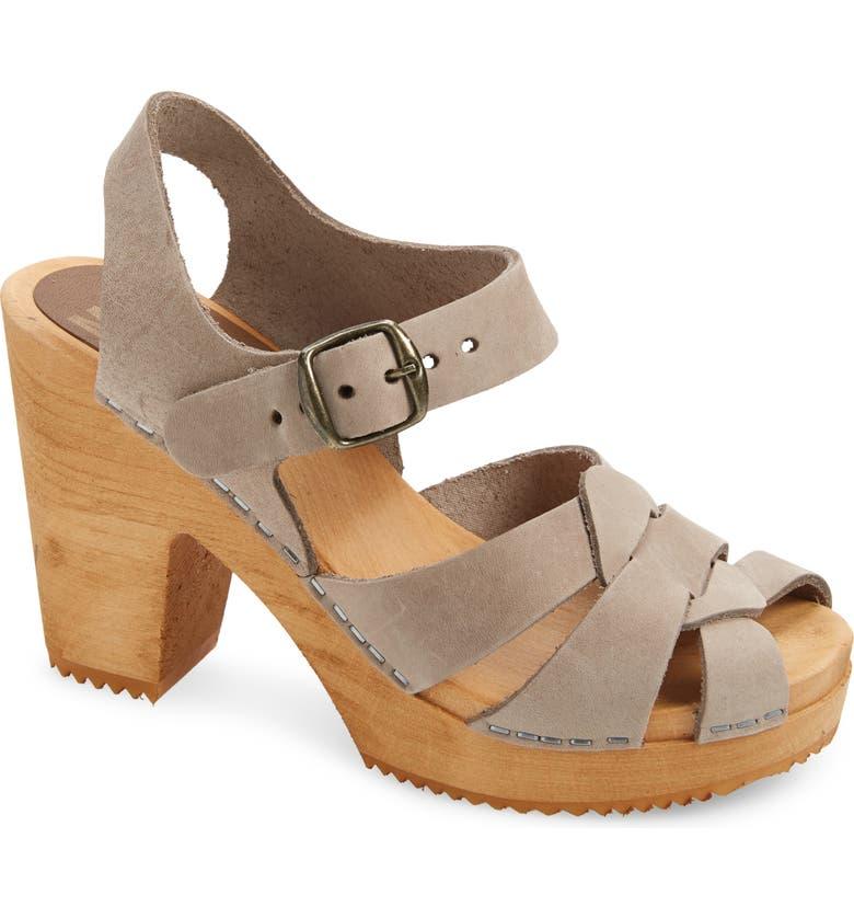 MIA Viveka Platform Sandal, Main, color, TAUPE
