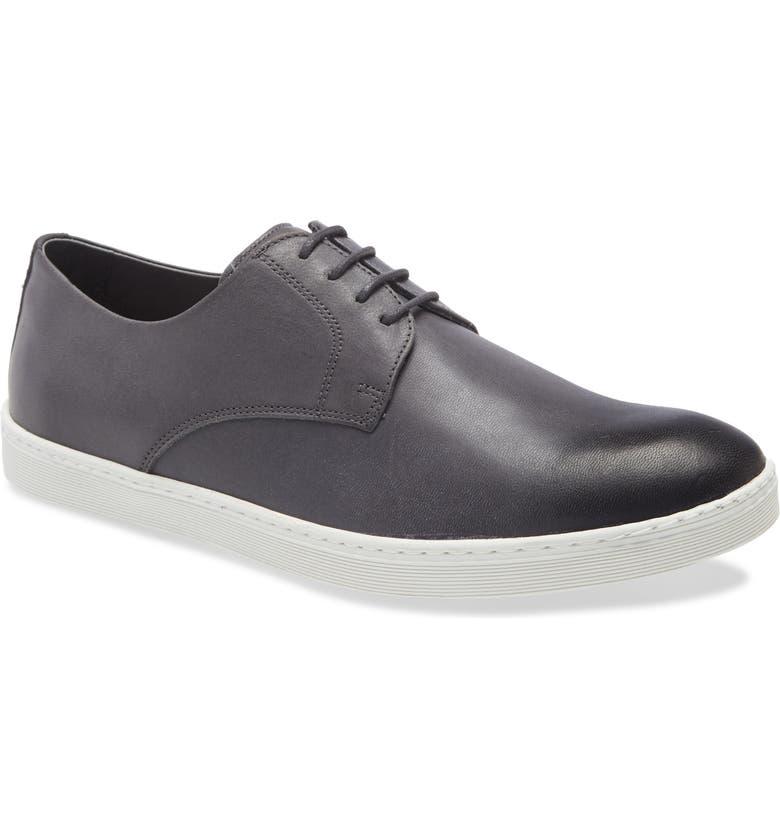 NORDSTROM MEN'S SHOP Torrance Sneaker, Main, color, CHARCOAL LEATHER