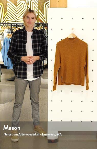 Mock Neck Side Slit Sweater, sales video thumbnail