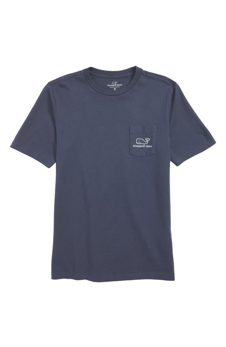 VINEYARD VINES Whale T-Shirt, Main, color, BLUE BLAZE