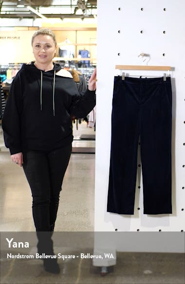 Velvet Crop Trousers, sales video thumbnail