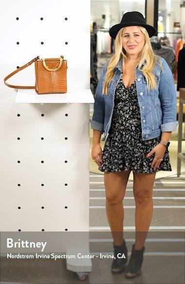 Sara Crocodile Grab Bag, sales video thumbnail