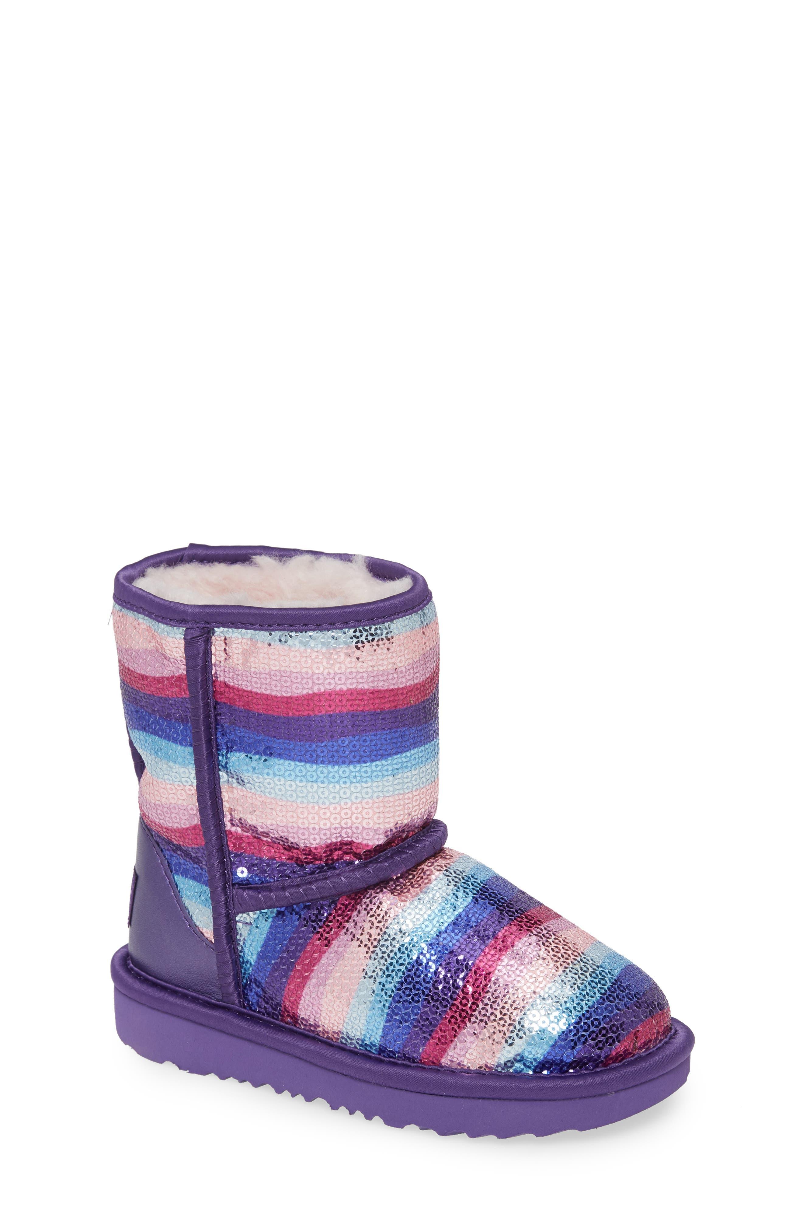 UGG® Classic II Rainbow Sequin Short