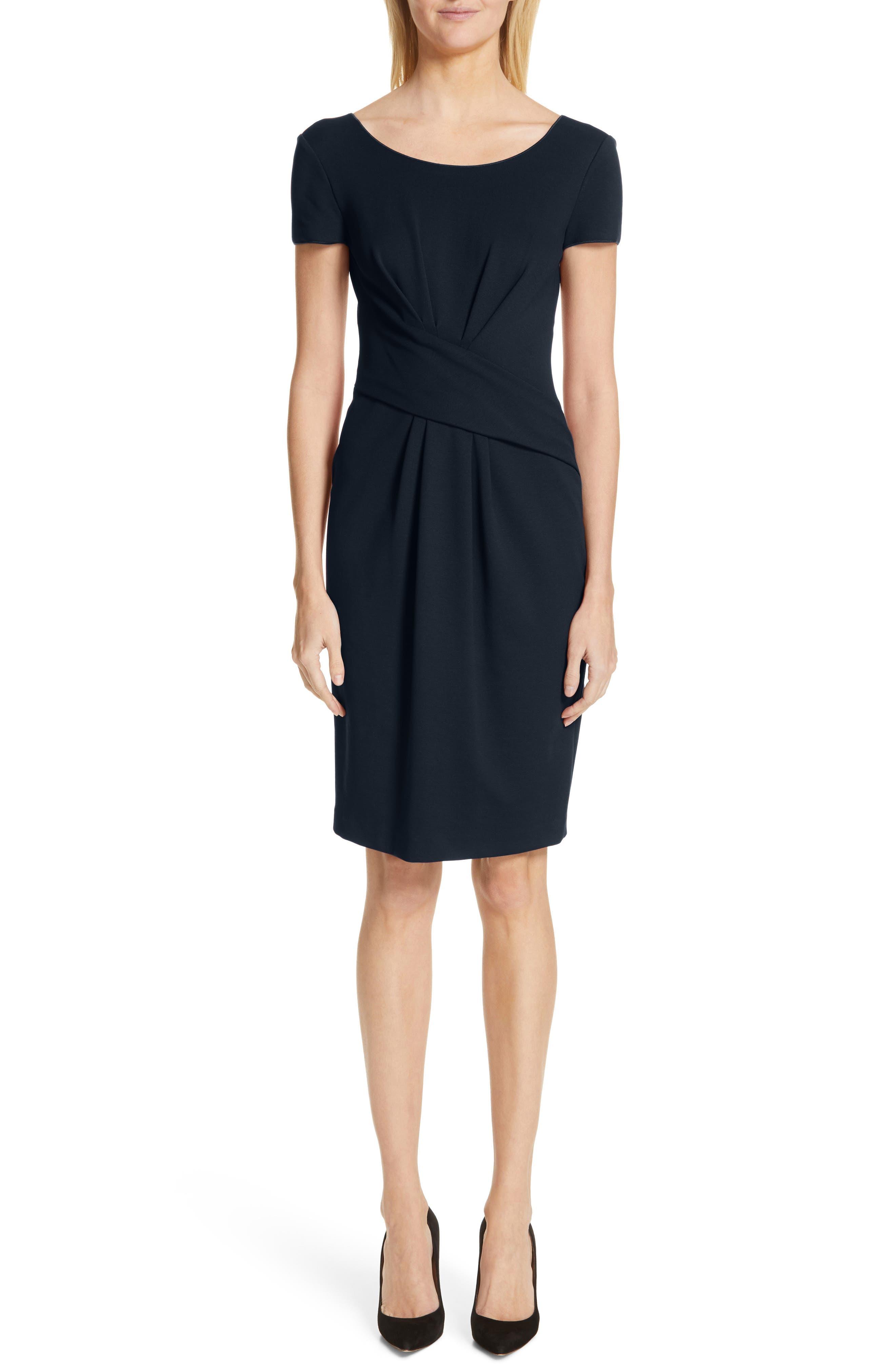 Emporio Armani Milano Jersey Dress, 8 IT - Blue