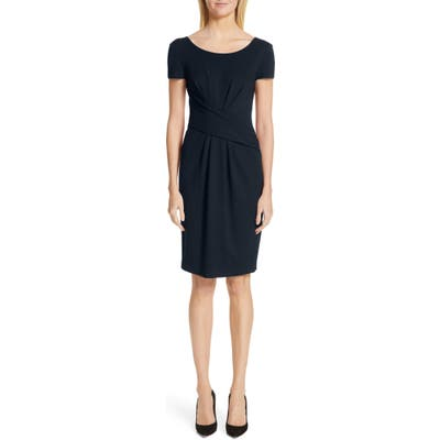 Emporio Armani Milano Jersey Dress, 8 IT - Blue