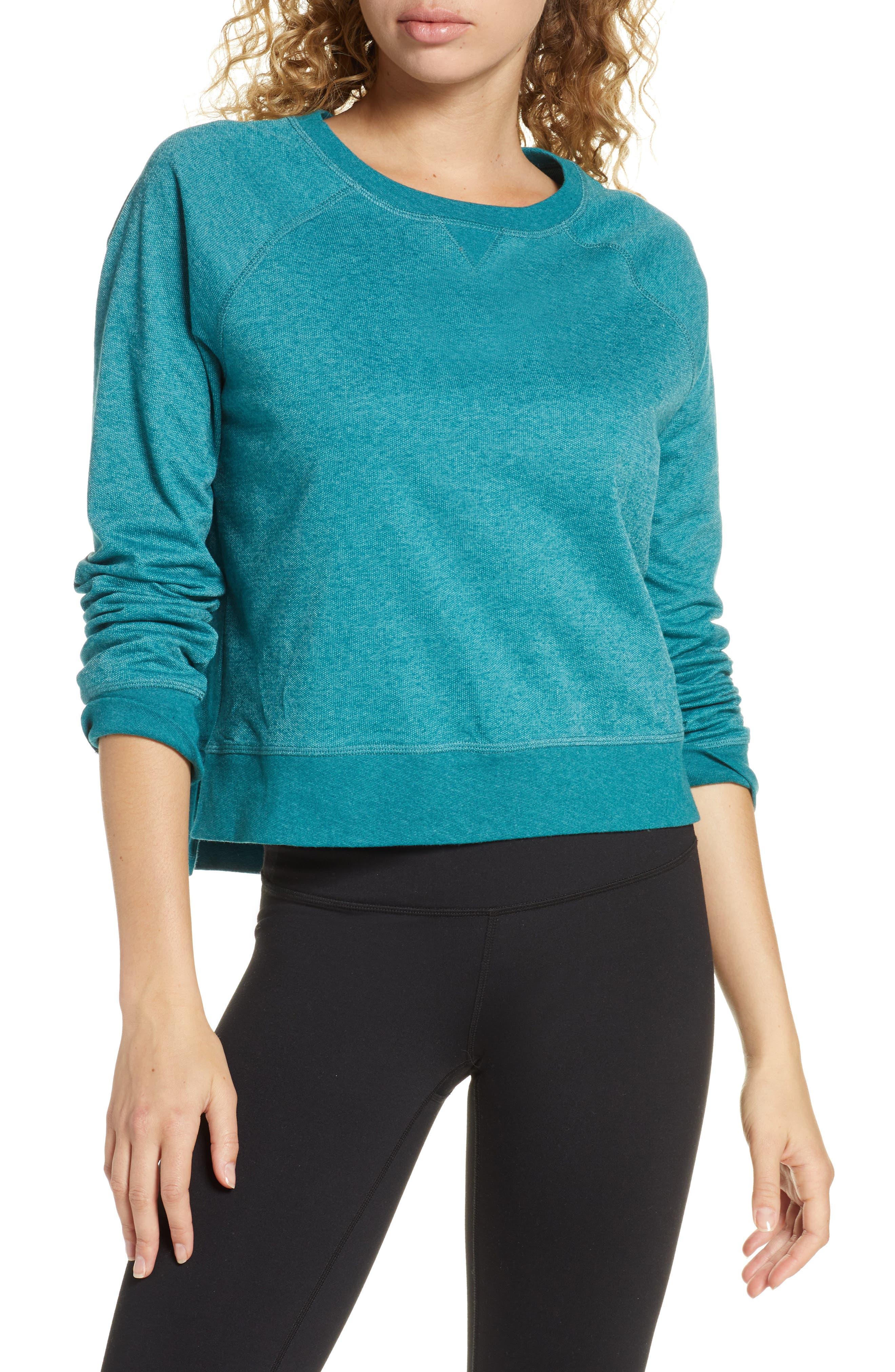 Sweaty Betty Chelsea Crop Sweatshirt