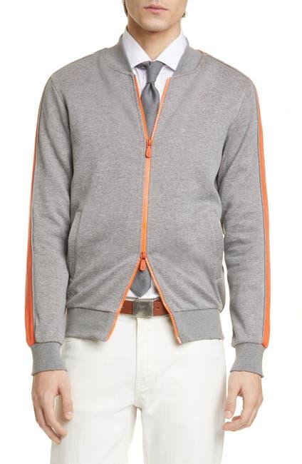 Image of ELEVENTY Striped Slim Track Jacket