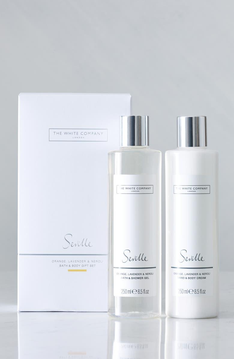 THE WHITE COMPANY Seville Bath & Body Set, Main, color, 100