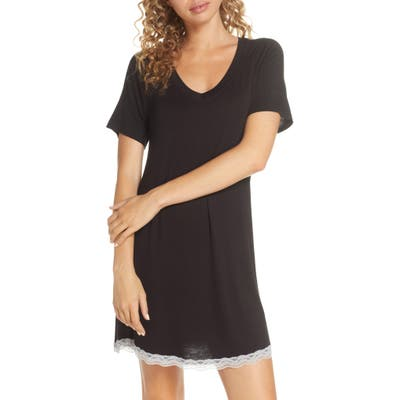Honeydew Intimates All American Sleep Shirt, Black