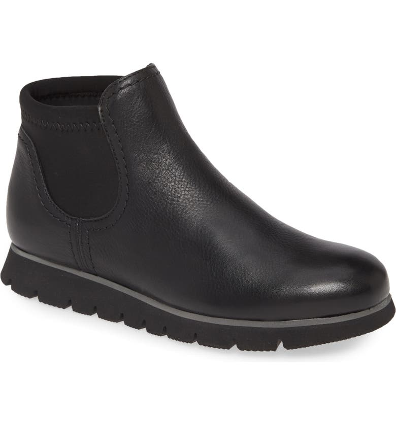 SAMUEL HUBBARD SamSport Chelsea Boot, Main, color, BLACK LEATHER