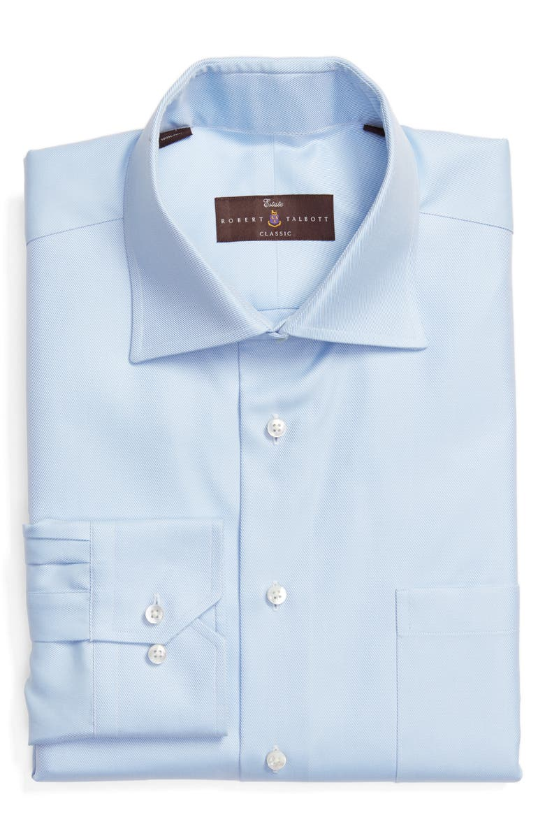 ROBERT TALBOTT Classic Fit Dress Shirt, Main, color, SKY