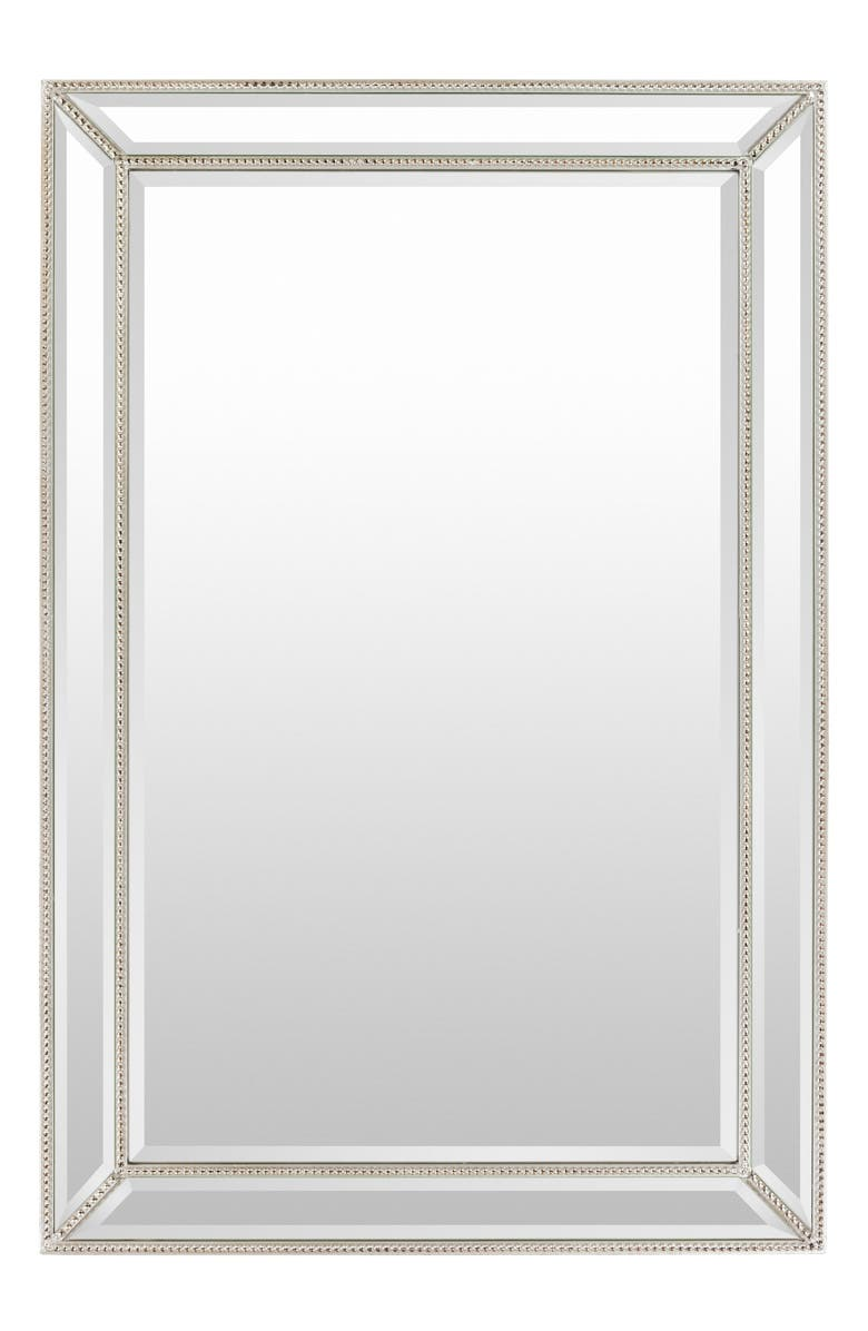 SURYA HOME Pemberton Mirror, Main, color, SILVER