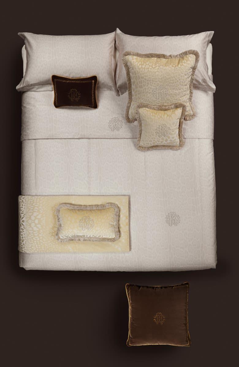 ROBERTO CAVALLI Pantera Bedspread, Main, color, IVORY