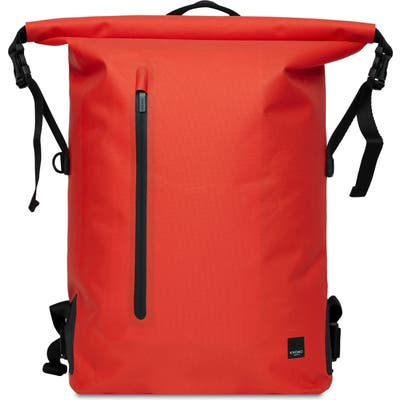 Knomo London Thames Cromwell Roll Top Backpack - Orange
