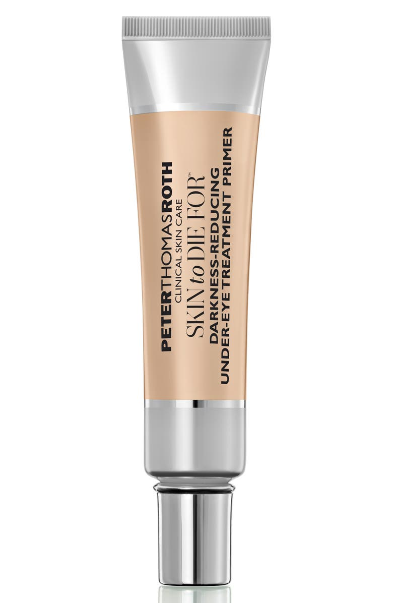 PETER THOMAS ROTH Skin to Die For<sup>®</sup> Darkness-Reducing Undereye Treatment Primer, Main, color, NO COLOR