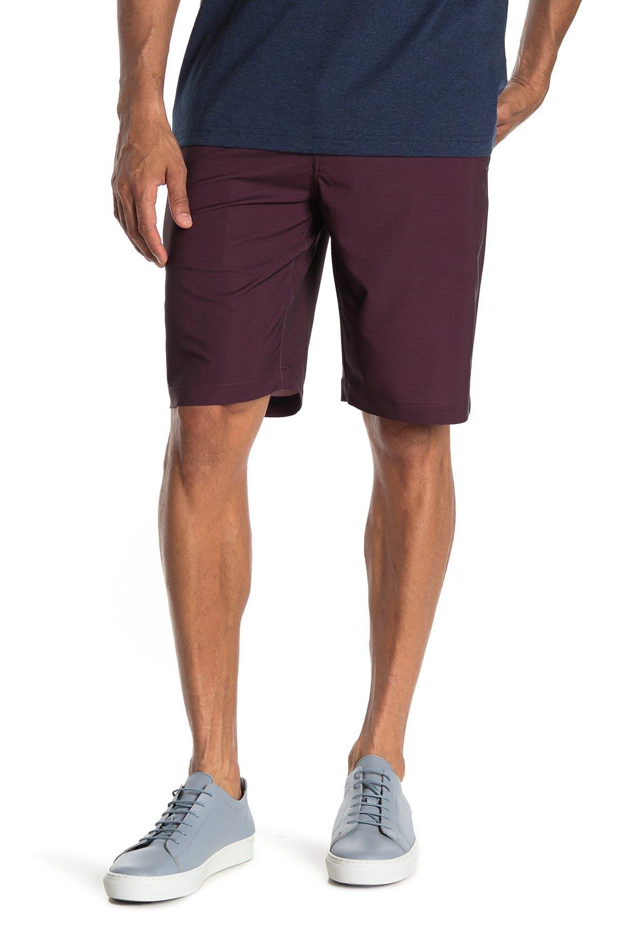Image of TRAVIS MATHEW Loreto Stripe Stretch Shorts