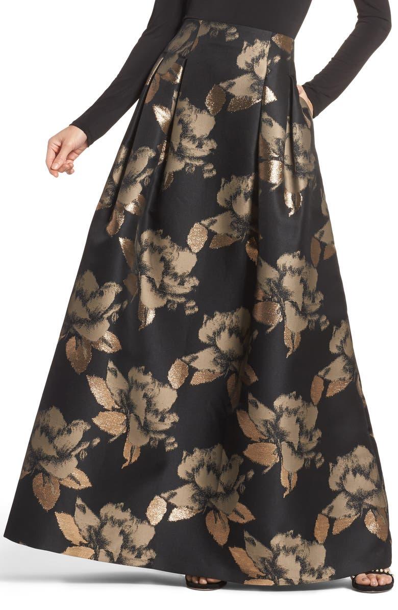 ELIZA J High Waist Ball Skirt, Main, color, 008