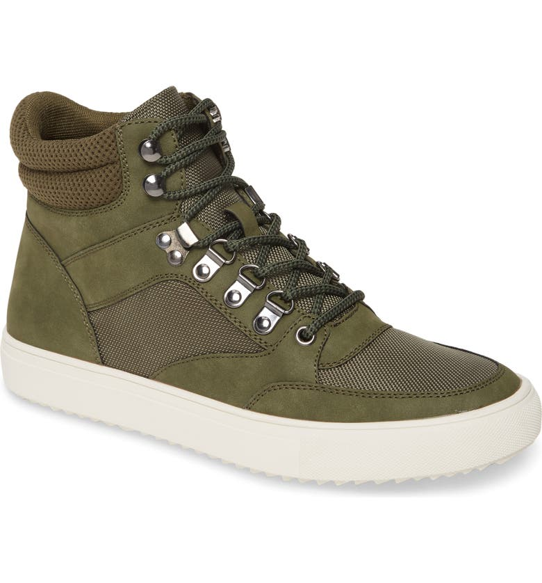 BP. Cash High Top Sneaker, Main, color, OLIVE