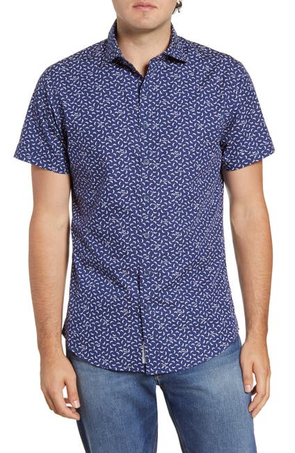 Image of RODD AND GUNN Grantlea Short Sleeve Regular Fit Shirt