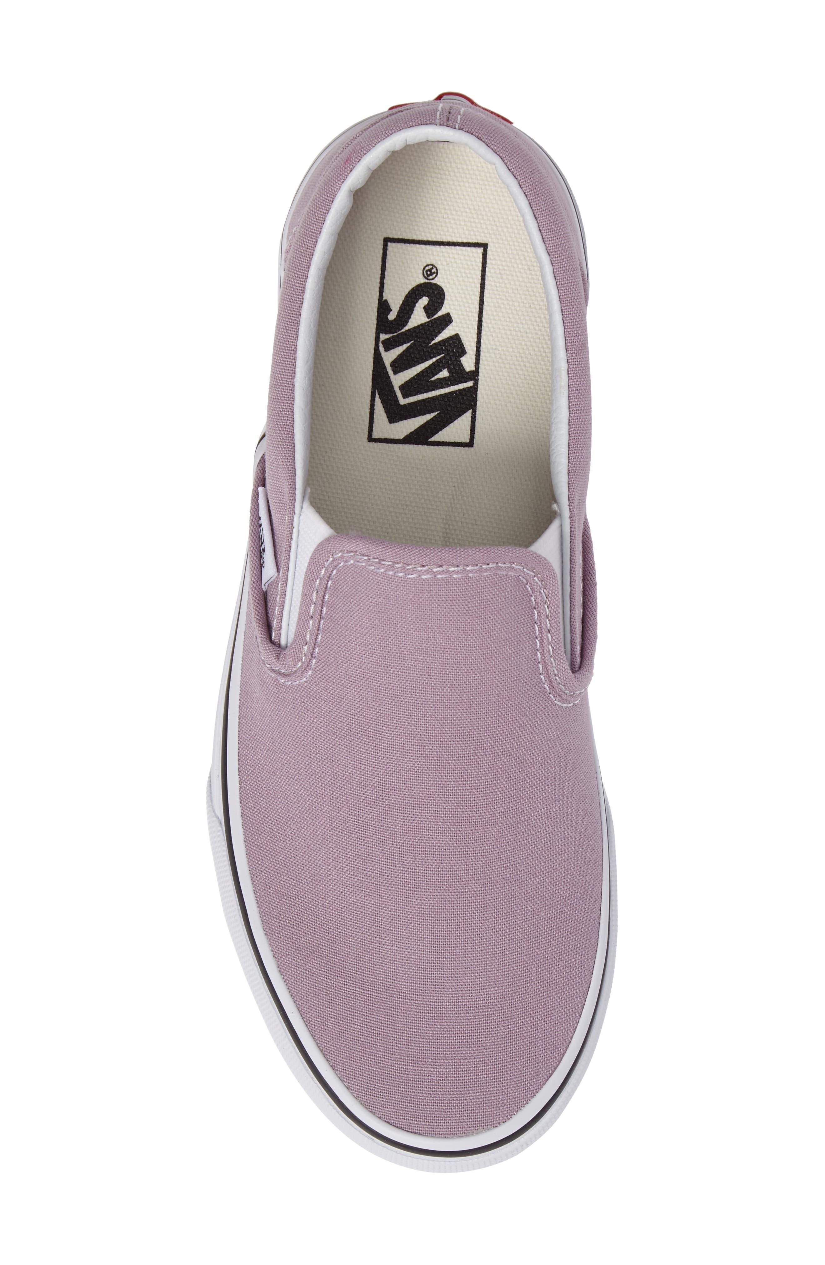 ,                             Classic Slip-On Sneaker,                             Alternate thumbnail 376, color,                             555
