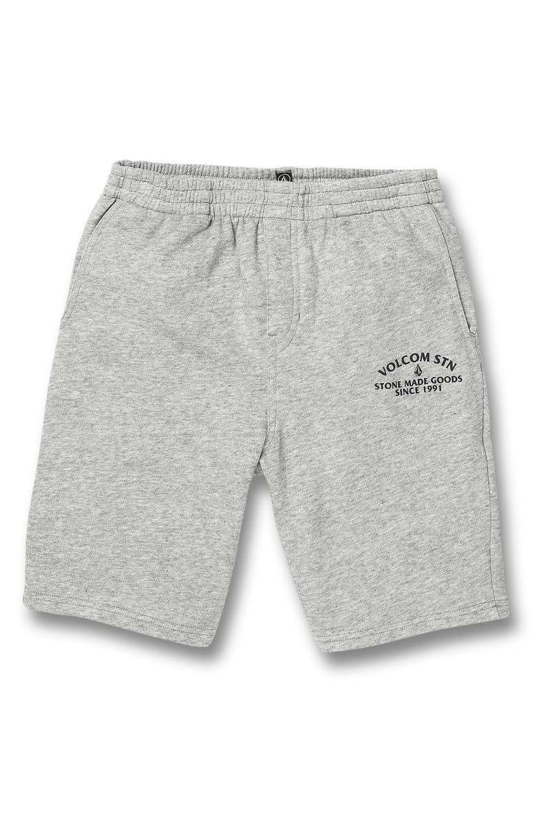 VOLCOM Warner Fleece Shorts, Main, color, 038