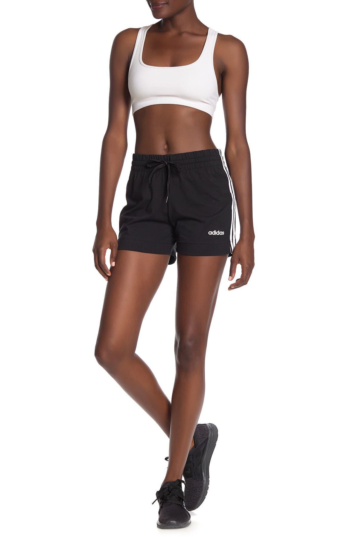 Image of adidas 3-Stripes Jersey Shorts