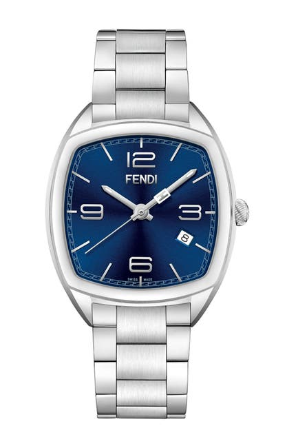 Image of FENDI Women's Momento Stainless Steel Bracelet Watch, 39 x 46.5 mm