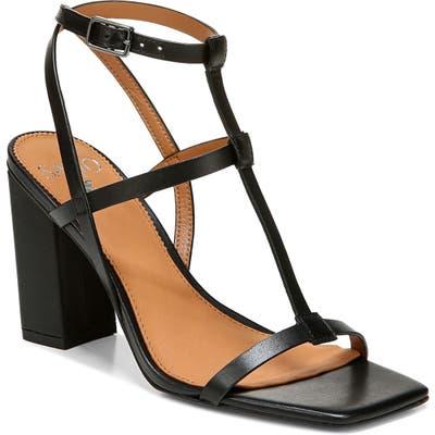 Sarto By Franco Sarto Vix T-Strap Sandal- Black