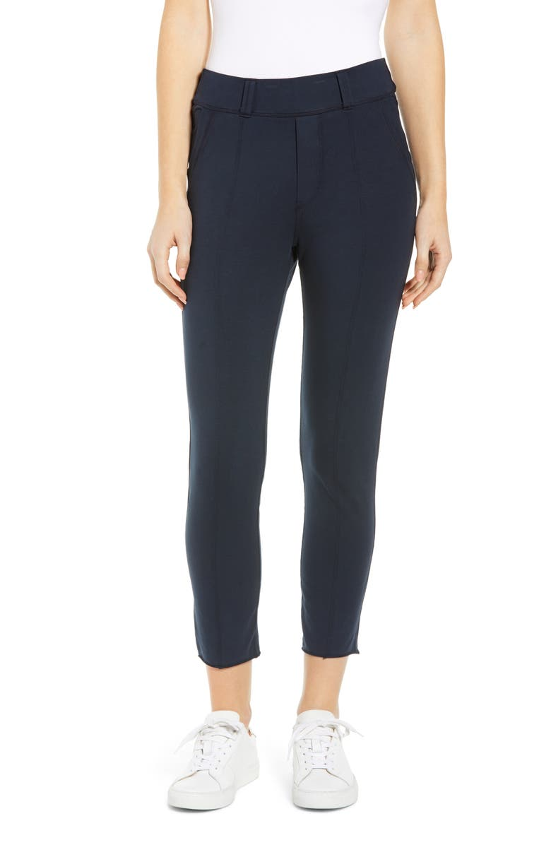 FRANK & EILEEN Tee Lab The Trouser Knit Pants, Main, color, BRITISH ROYAL NAVY