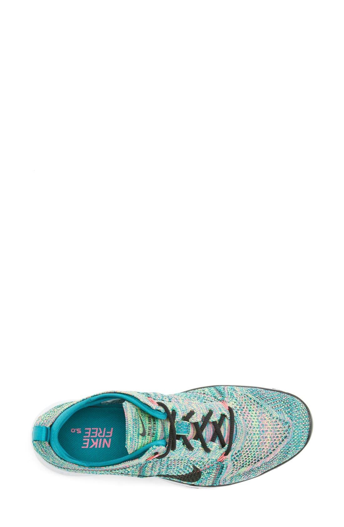 ,                             'Free Flyknit 5.0 TR' Training Shoe,                             Alternate thumbnail 18, color,                             300