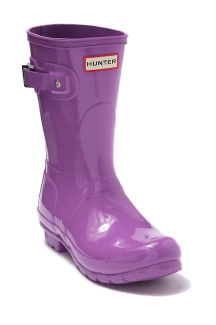 Image of Hunter Original Short Gloss Waterproof Rain Boot