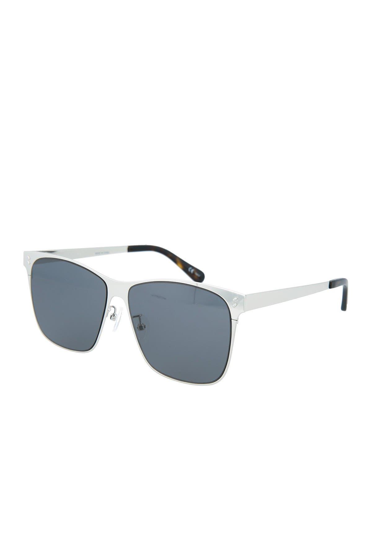 Image of Stella McCartney 45mm Square Sunglasses