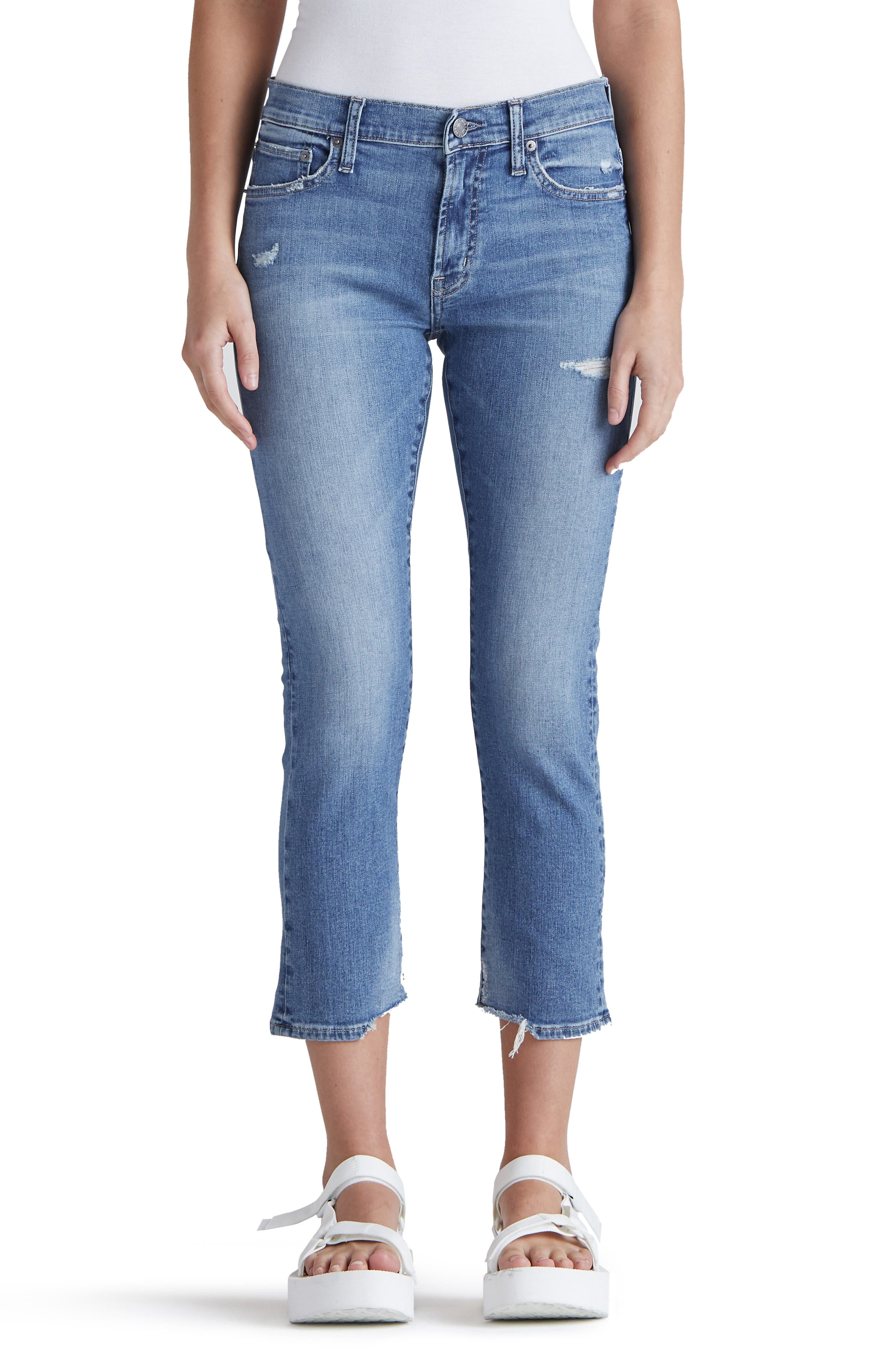 Jamie Crop Straight Leg Jeans