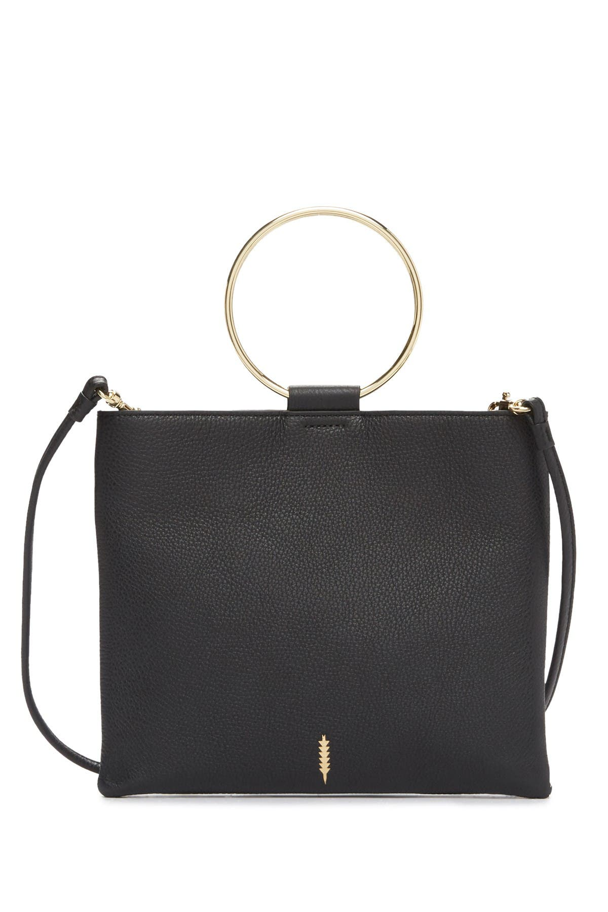 Image of THACKER Le Pouch Leather Shoulder Bag