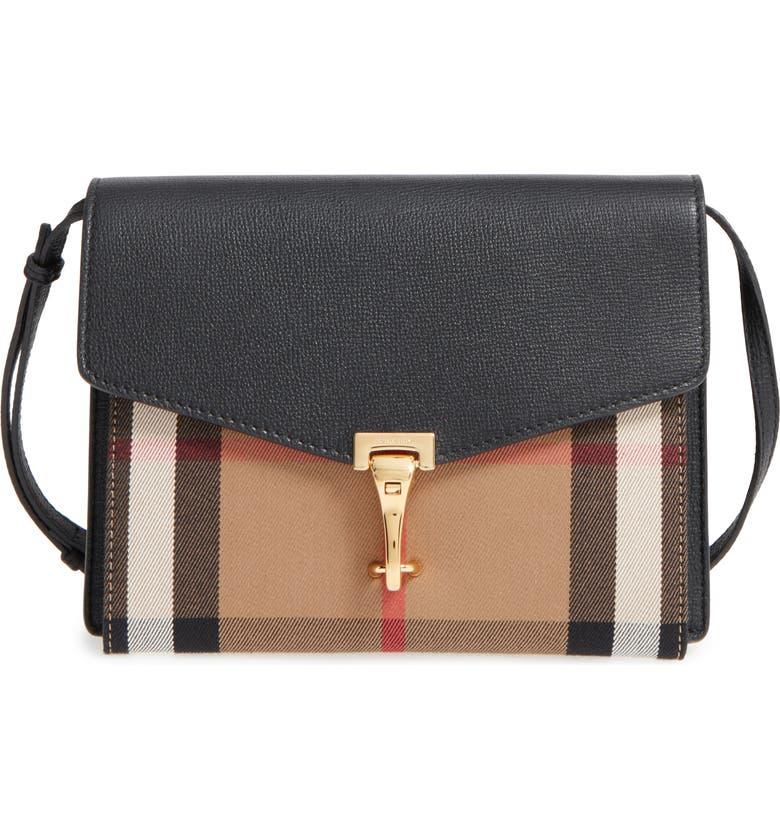 Small Macken Check Crossbody Bag