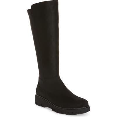 Ara Jackie Stretch Knee High Boot- Black