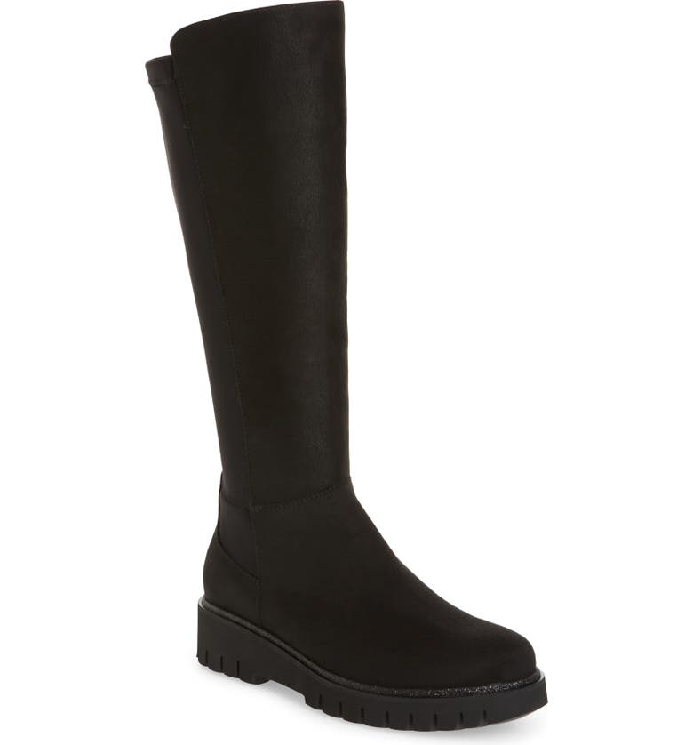 ARA Jackie Stretch Knee High Boot, Main, color, 001