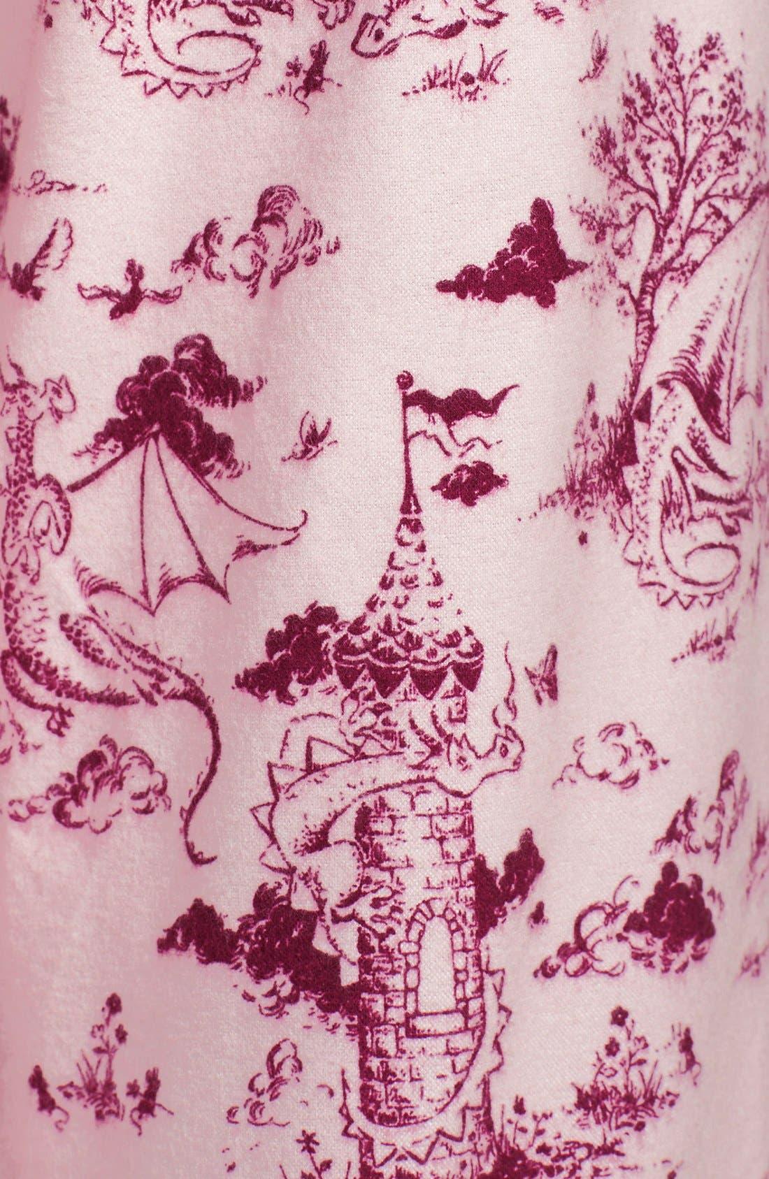 ,                             Flannel Pajamas,                             Alternate thumbnail 90, color,                             685