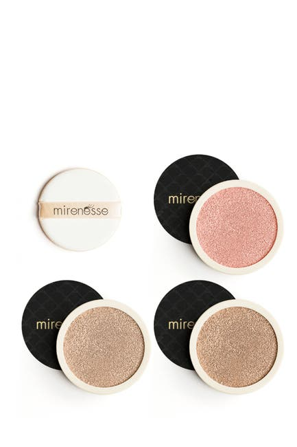 Image of Mirenesse 4-Piece Starter 10 Collagen Cushion & Blush Kit - 13/21 Light/Medium