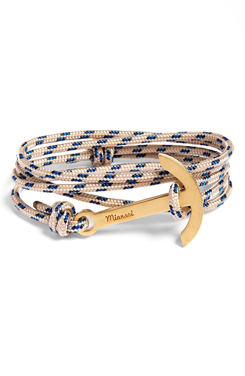 MIANSAI Modern Anchor Rope Wrap Bracelet, Main, color, 250