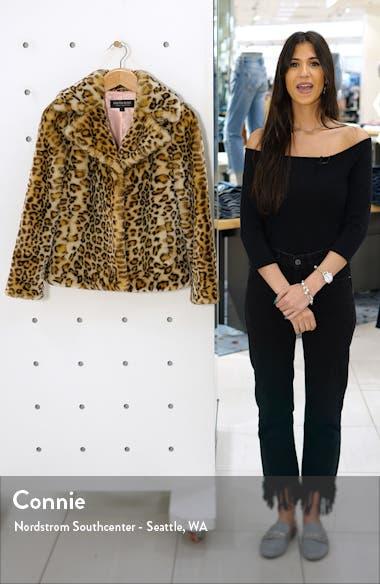 Faux Ocelot Fur Jacket, sales video thumbnail