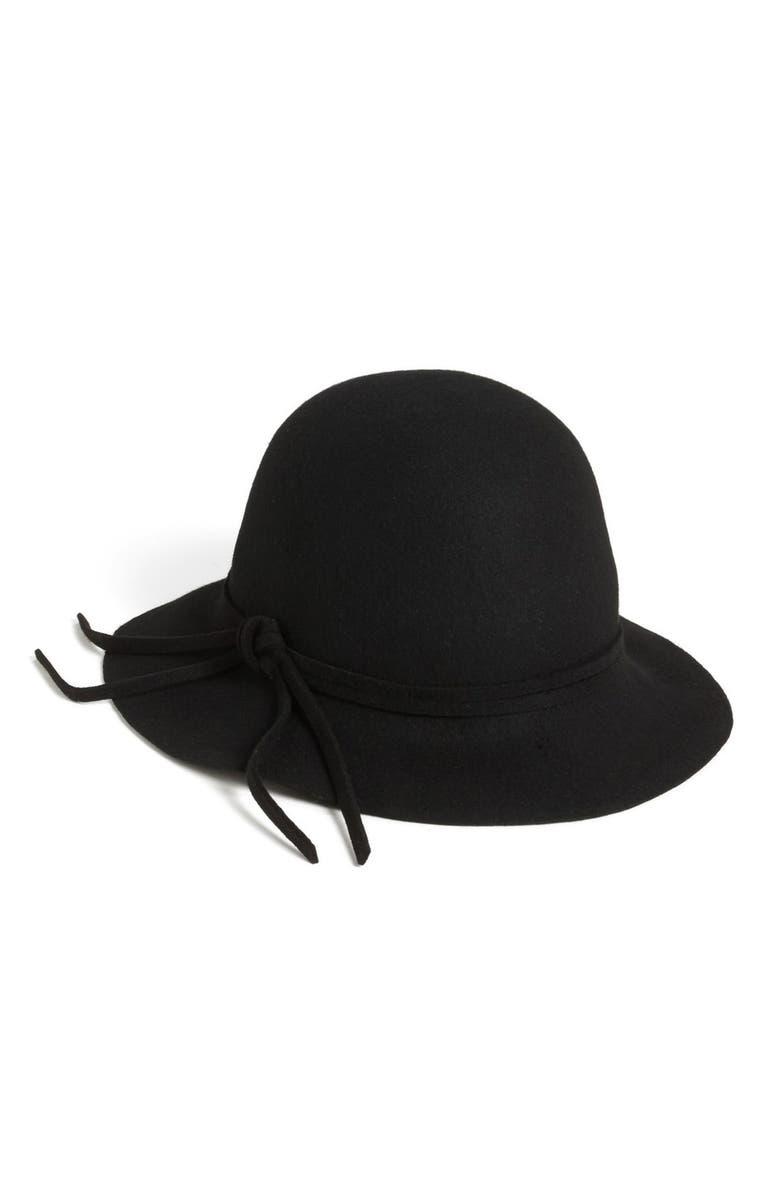 NORDSTROM Felt Hat, Main, color, 001