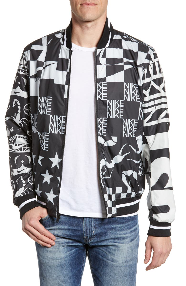 NIKE Sportswear Sport Pack Men's Printed Jacket, Main, color, 133