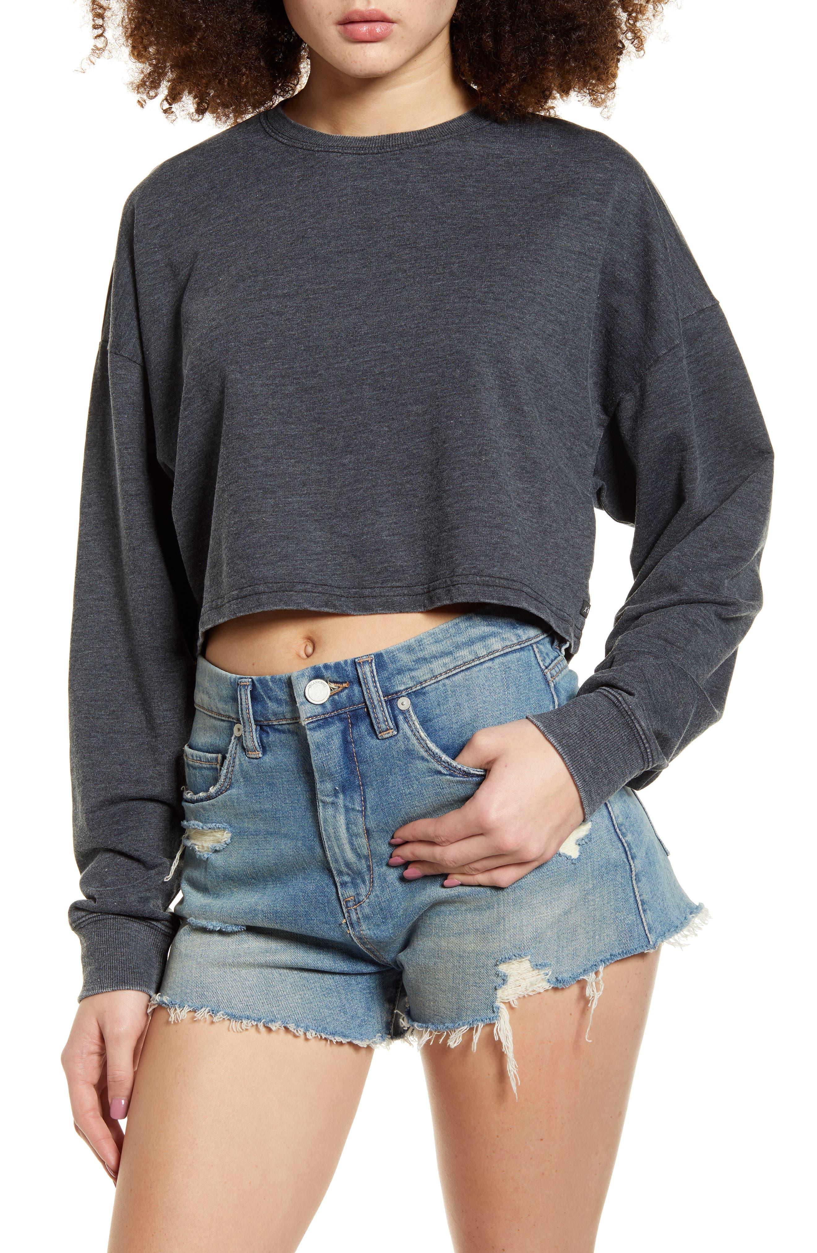 Sutton Crop Sweatshirt