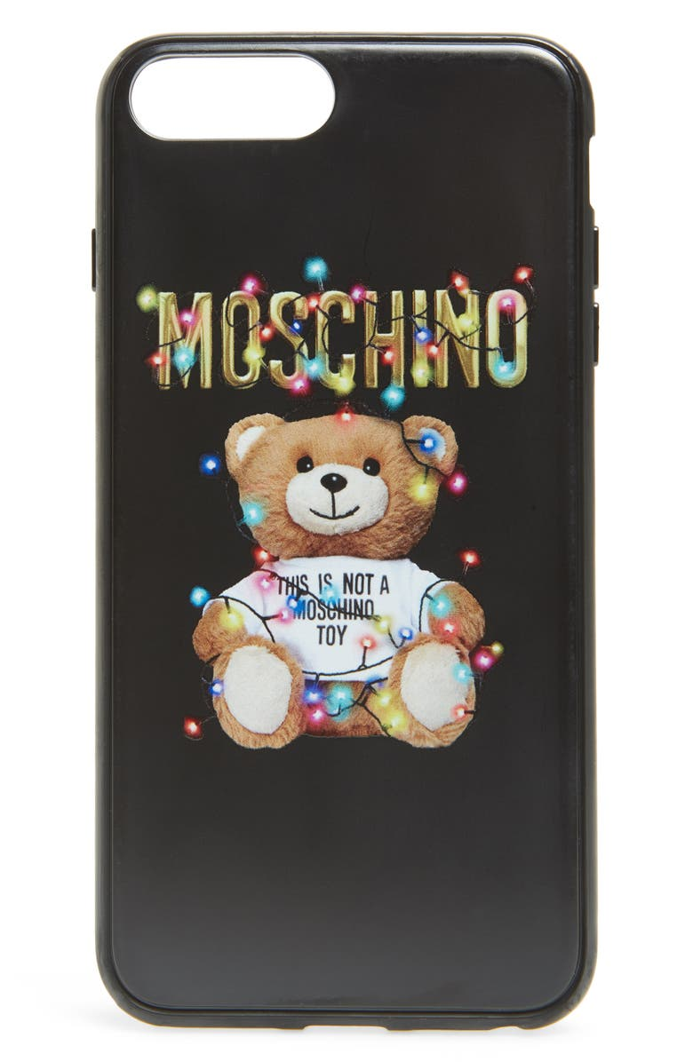 best service 1b89e 45113 Christmas Teddy iPhone 7/8, 7/8 Plus Case